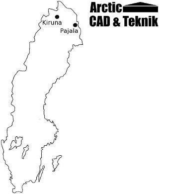 Karta Sverige Pajala.Arctic Cad Teknik Byggkonsult Och Byggkonstruktion I Kiruna Och
